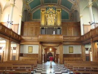 St Andrew Holborn, interior