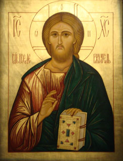 Icon of Christ St Andrew Holborn