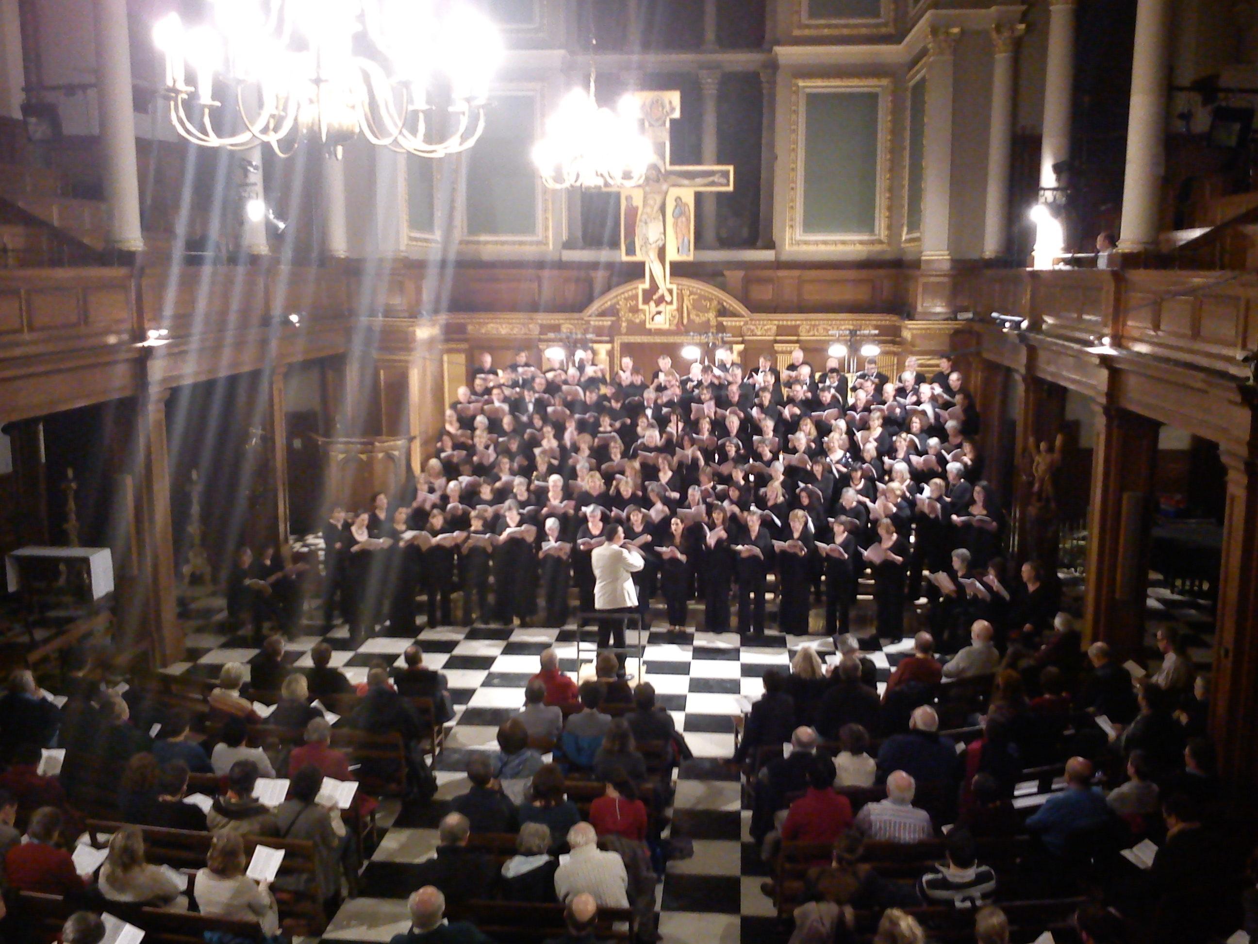 Tallis Festival 2013 concert, St Andrew Holborn